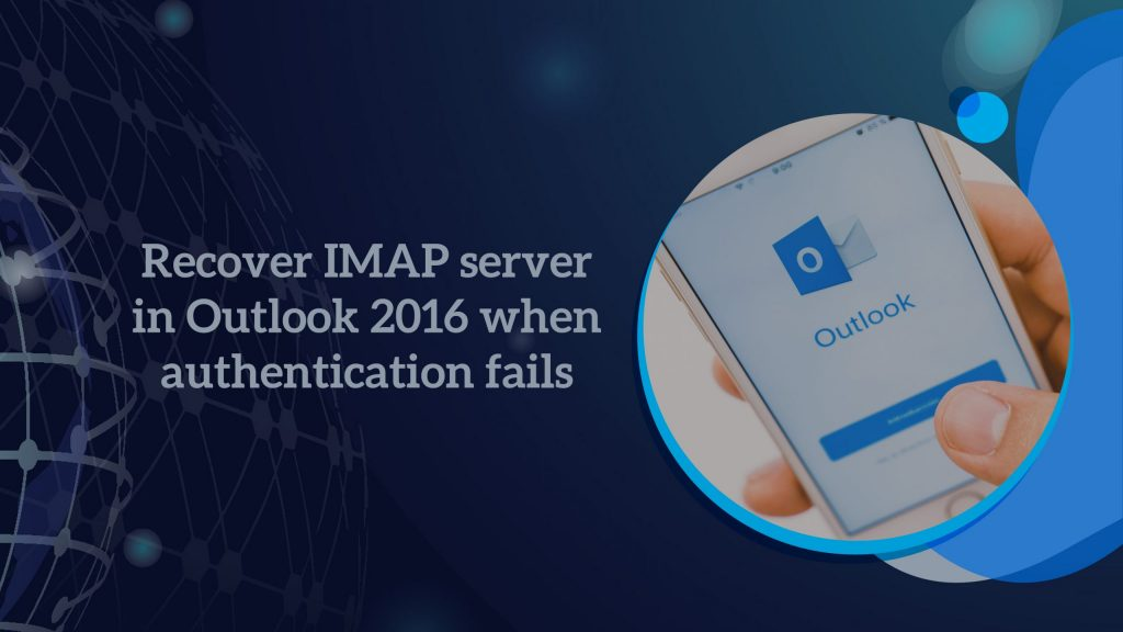 IMAP server in Outlook 2016