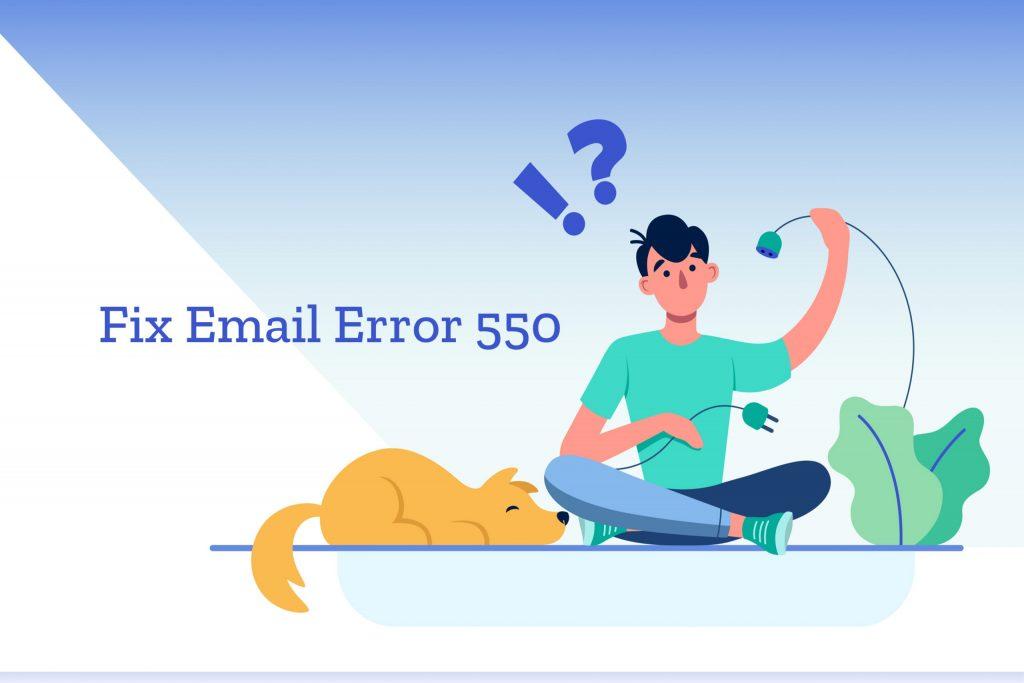 Email-error-code-550